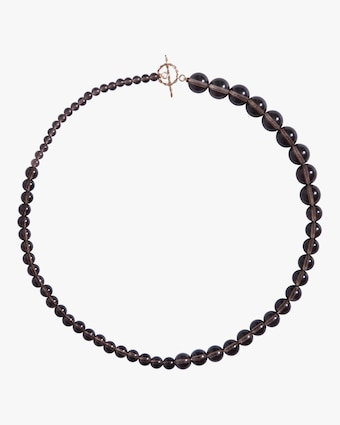 NST Studio Small Smoky Quartz Necklace 1