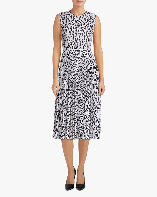 Jason Wu Collection Sleeveless Belted Midi Dress 1
