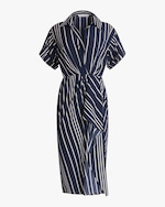 Jason Wu Collection Ruffled Surplice Midi Dress 0
