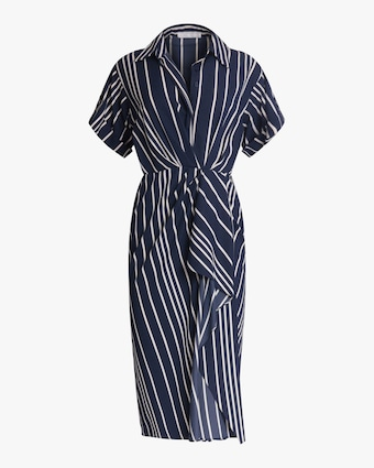 Jason Wu Collection Ruffled Surplice Midi Dress 1