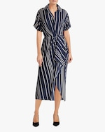 Jason Wu Collection Ruffled Surplice Midi Dress 2