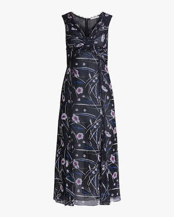 Jason Wu Collection Sleeveless Silk Midi Dress 1