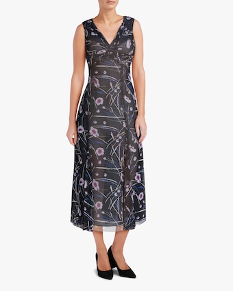 Jason Wu Collection Sleeveless Silk Midi Dress 2