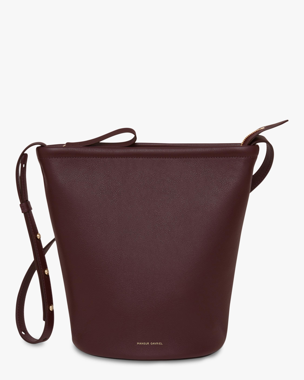 Mansur Gavriel Soft Zip Bucket Bag 1