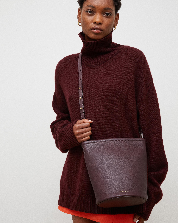 Mansur Gavriel Soft Zip Bucket Bag 2