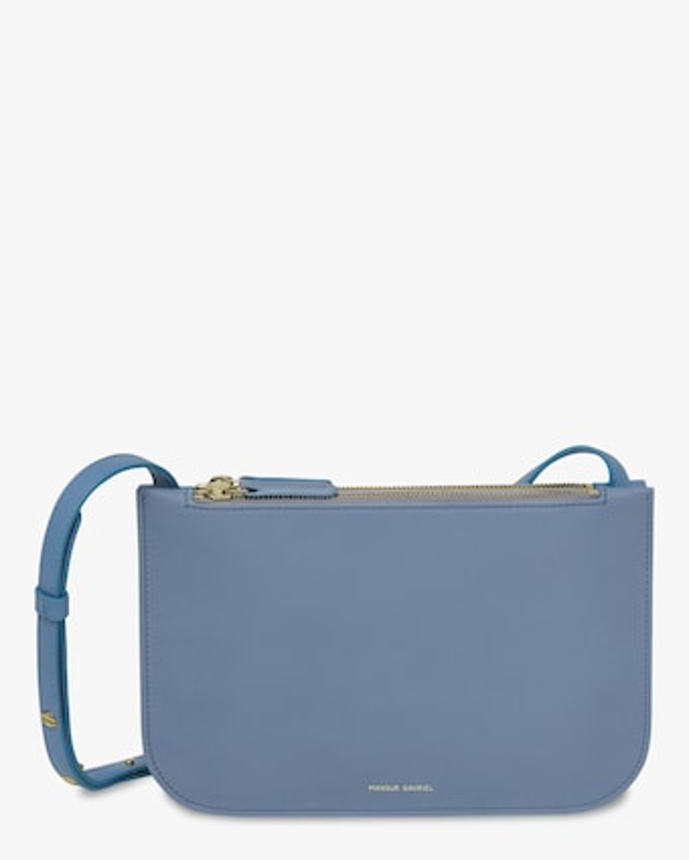 Mansur Gavriel Soft Double Crossbody Bag 1