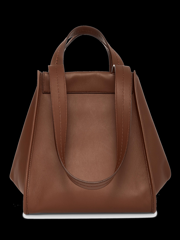 Anita Reversible Leather Handbag