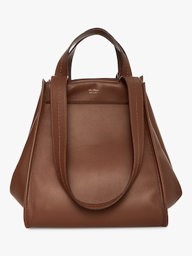Anita Reversible Leather Handbag