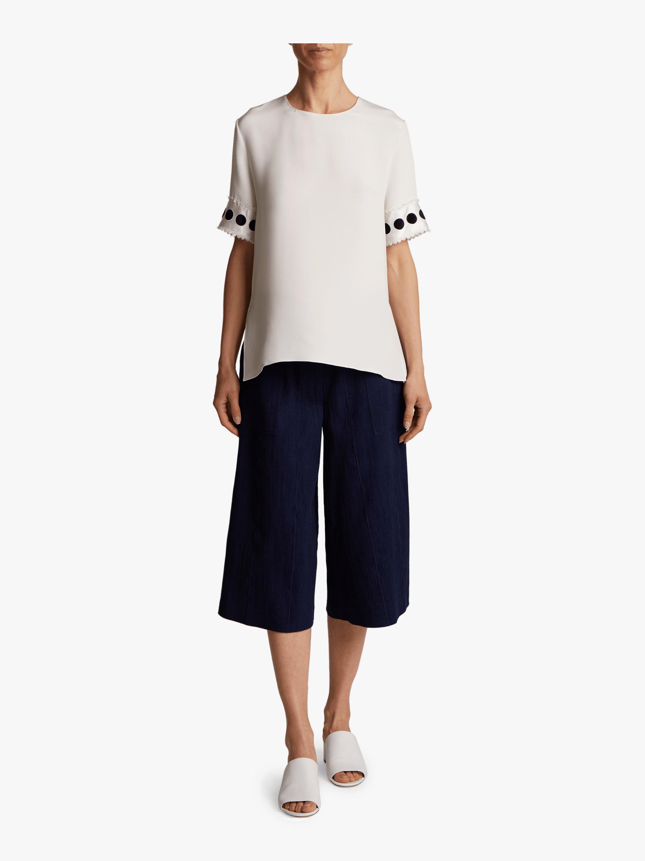 Silk Crepe T-Shirt