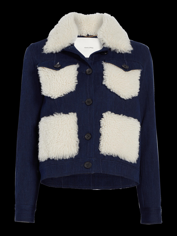 Corded Denim Jacket