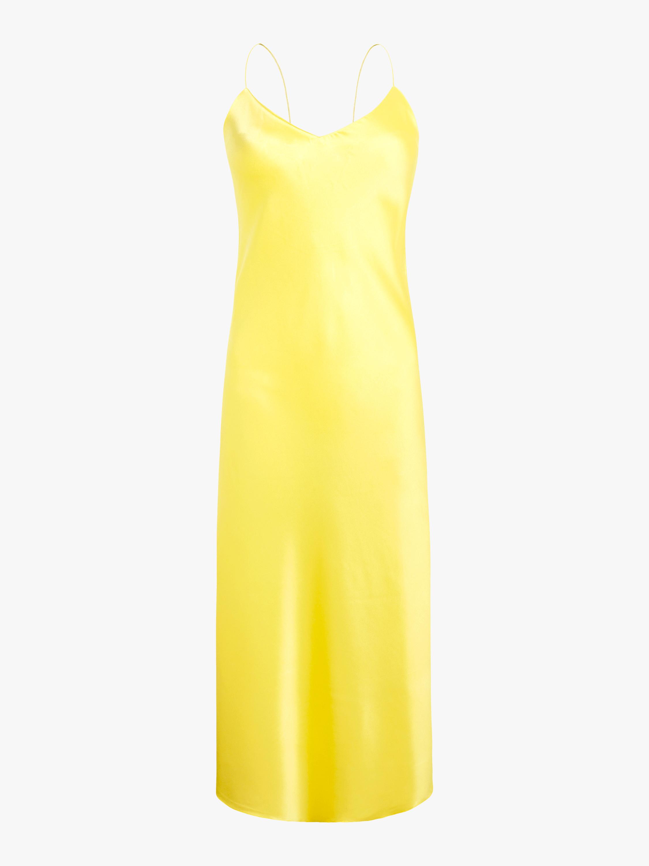 Jadi Silk Satin Dress