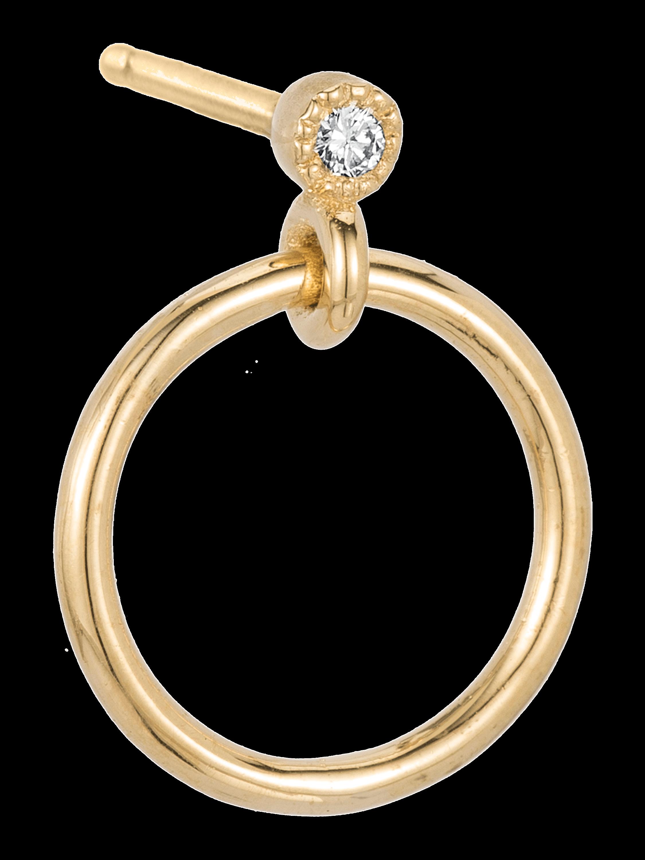 Mini Diamond Eternity Single Earring