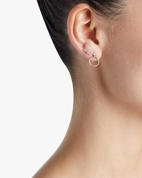 Mini Diamond Eternity Single Earring
