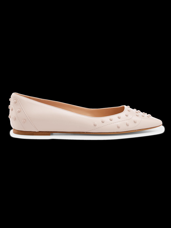 Cuoio Ballerina Flat