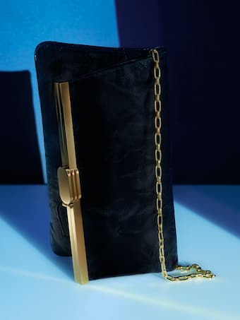 PM Leather Clutch