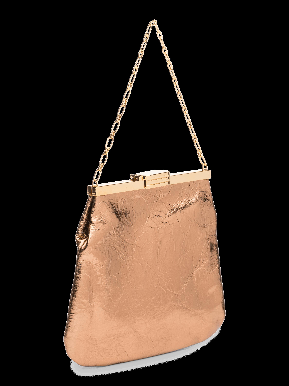 4AM Metallic Leather Bag