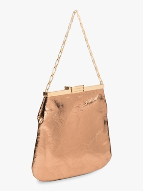 4AM Metallic Leather Bag