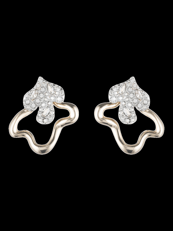 Crystal Encrusted Post Earrings