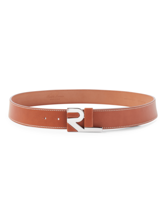 Covered Leather Belt