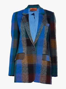 New York Check Notch Blazer