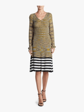 Ikat Graphic Dress