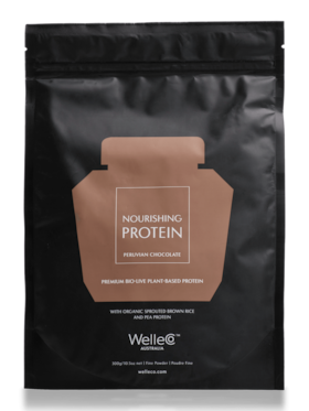 WelleCo Nourishing Plant Protein Chocolate Pouch 300g