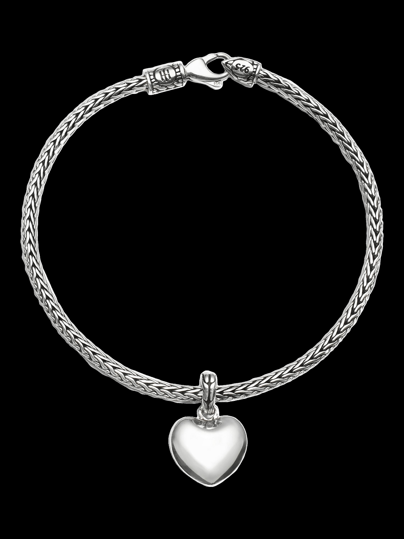 Classic Chain Heart Bracelet