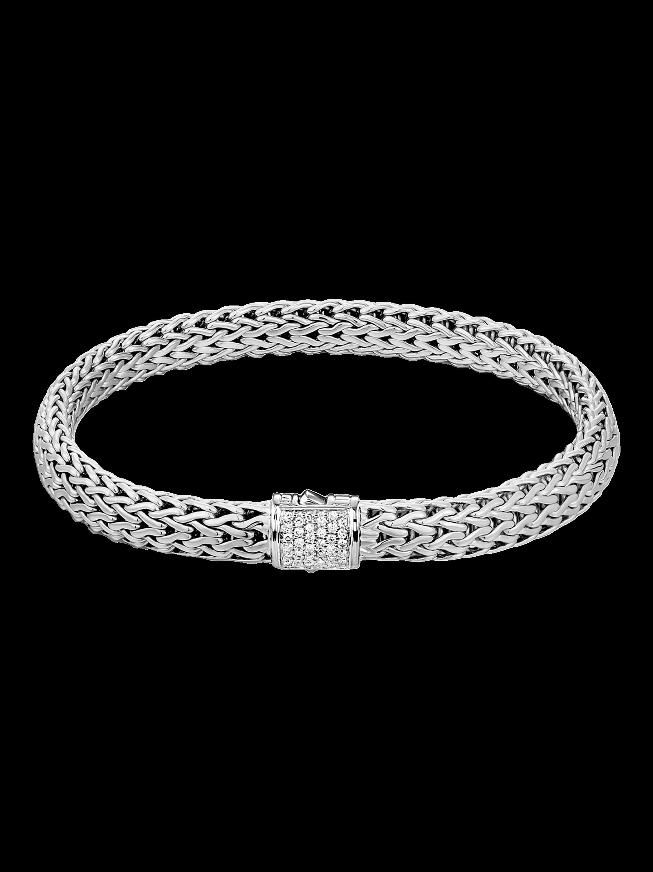 Classic Chain Diamond Bracelet
