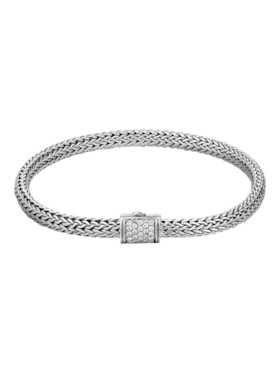 Classic Chain Diamond Bracelet