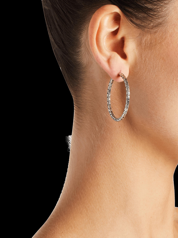 John Hardy Classic Chain Hoop Earrings 2