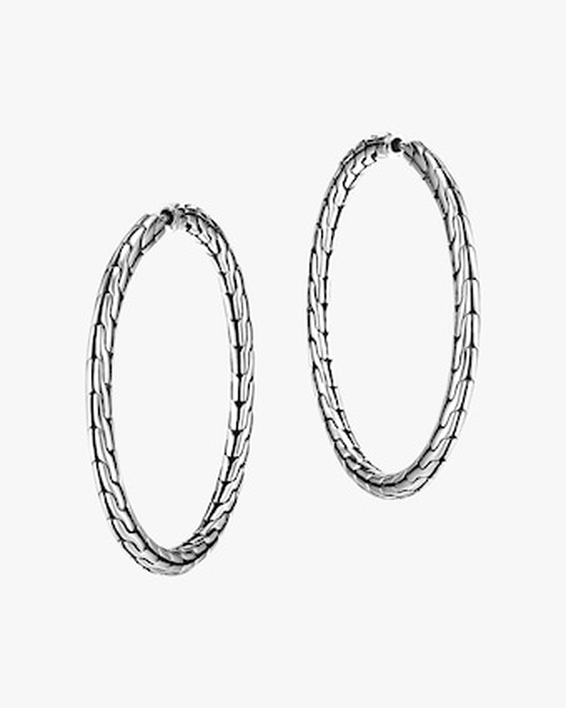 John Hardy Classic Chain Hoop Earrings 1