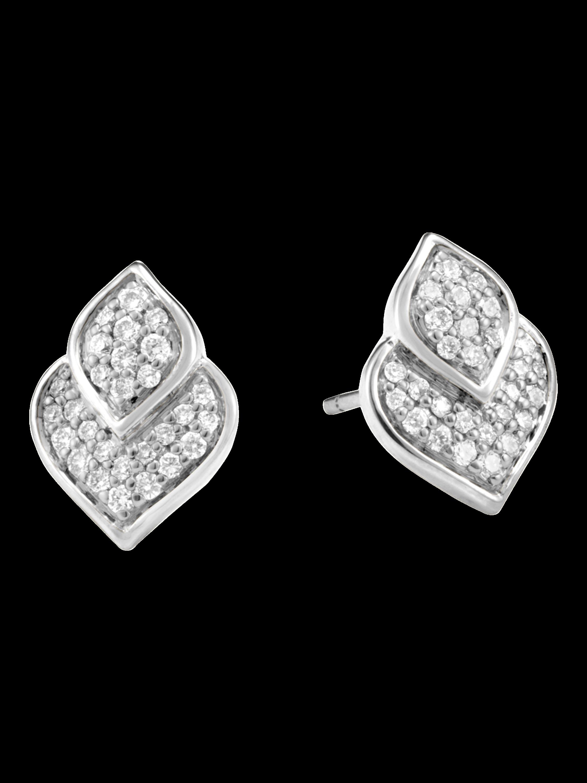 Naga Diamond Stud Earrings