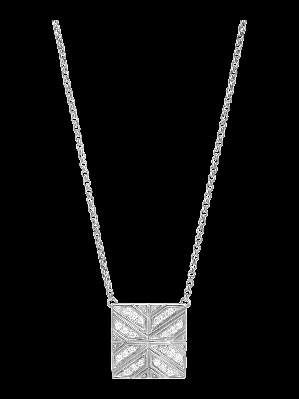 Modern Chain Diamond Necklace