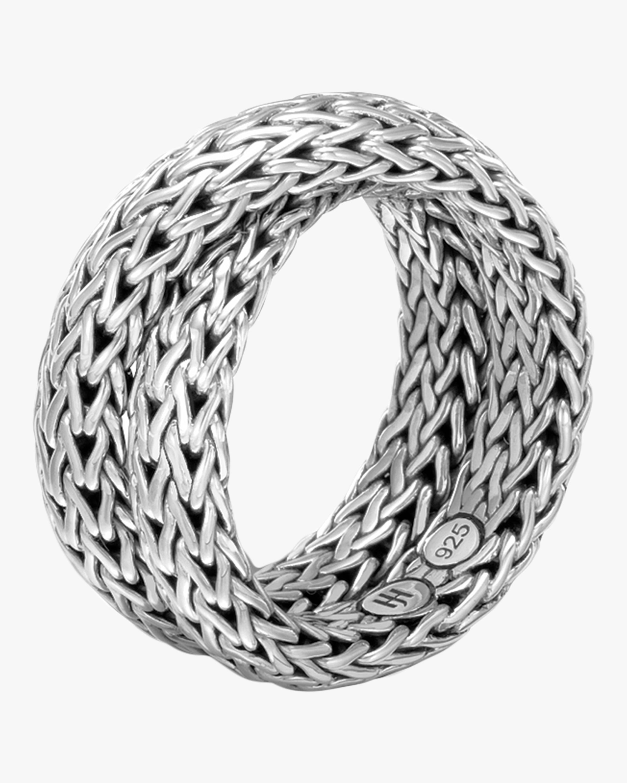 John Hardy Classic Chain Overlap Ring 0