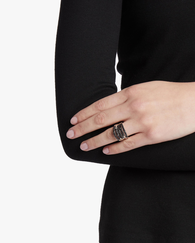 John Hardy Bamboo Ring with Black Sapphire 1