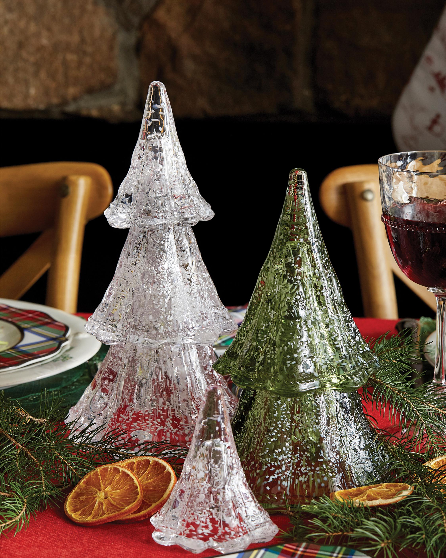 "Juliska Berry & Thread 10.5"" Stacking Glass Tree - Set of 3 2"