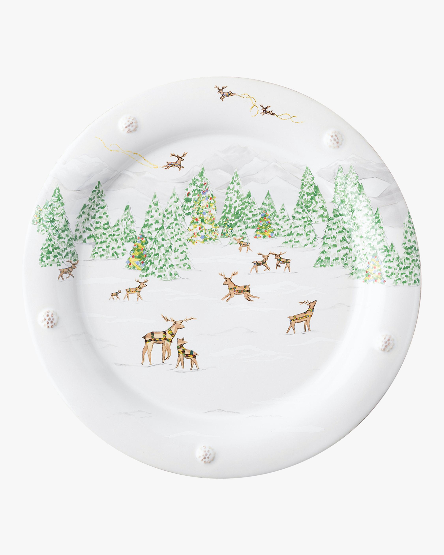 Juliska Berry & Thread North Pole Dinner Plate 0