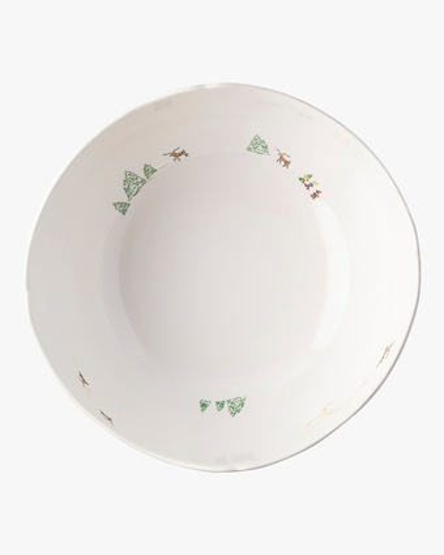 "Juliska Berry & Thread North Pole 10"" Serving Bowl 2"
