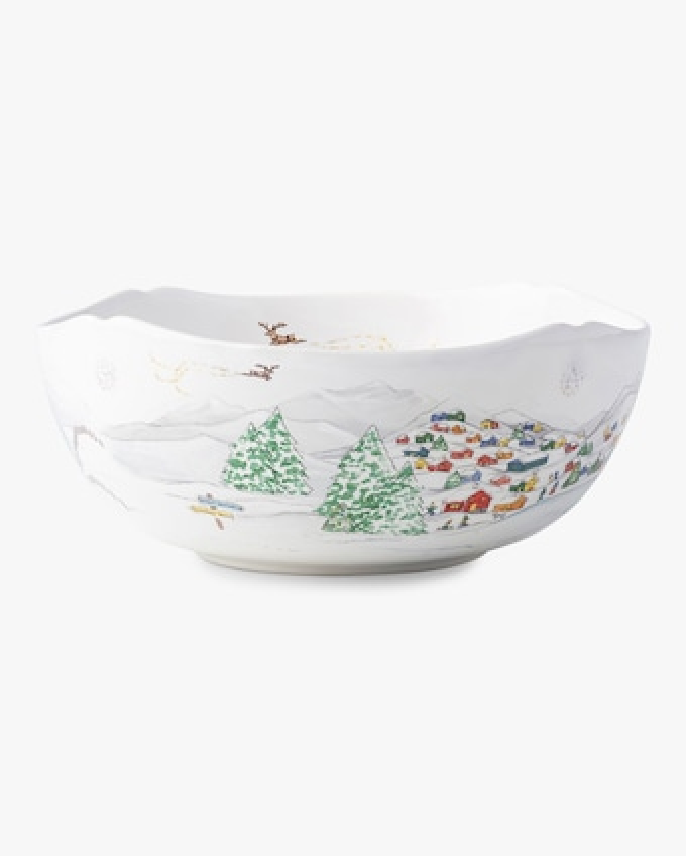 "Juliska Berry & Thread North Pole 10"" Serving Bowl 1"