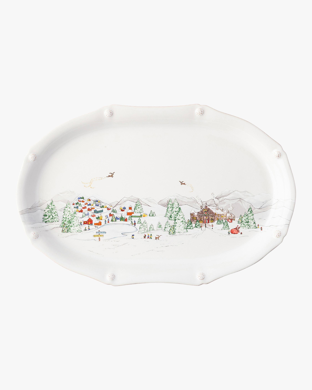 "Juliska Berry & Thread North Pole 17"" Platter 1"