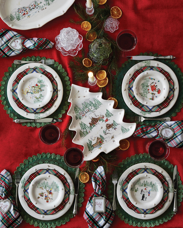 Juliska Berry & Thread North Pole Tree Platter 2