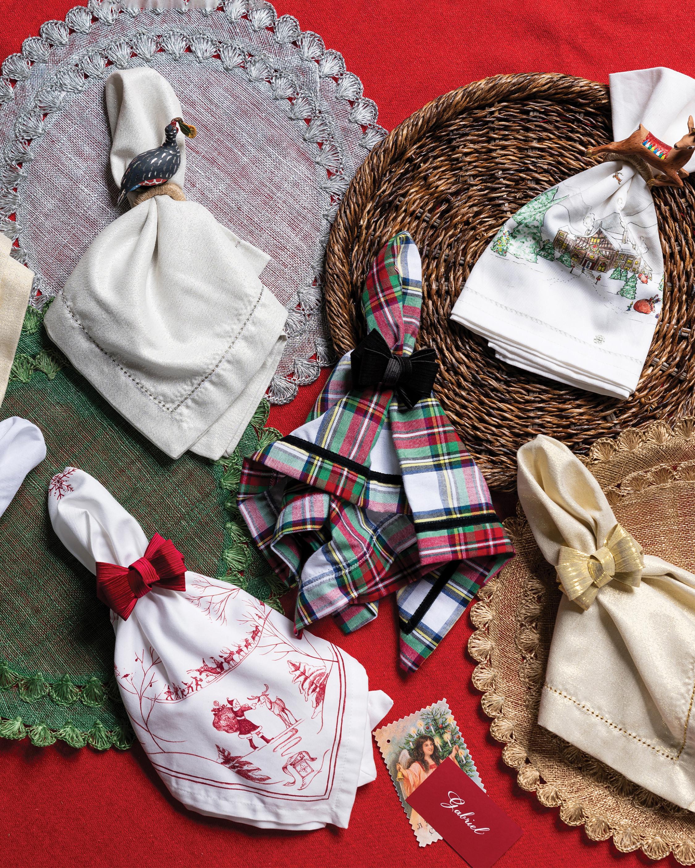 Juliska Berry & Thread North Pole Napkin 2