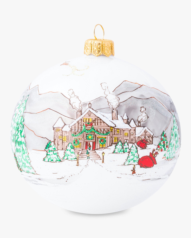 Juliska Limited Edition Berry &Thread North Pole Ornament 2