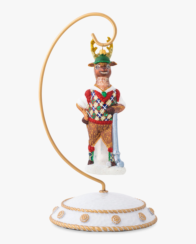 Juliska Country Estate Reindeer Games Comet Ornament 1