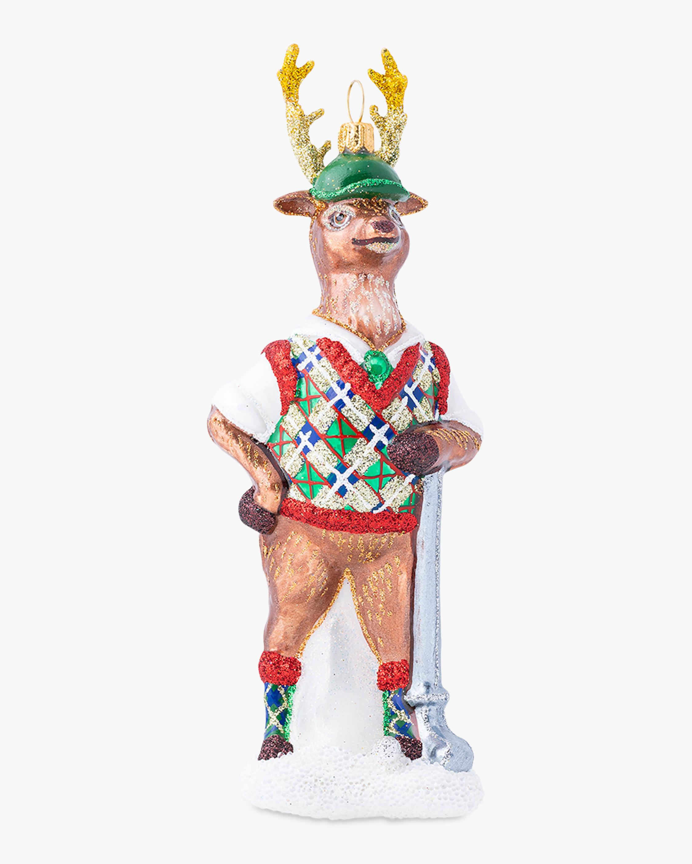 Juliska Country Estate Reindeer Games Comet Ornament 2