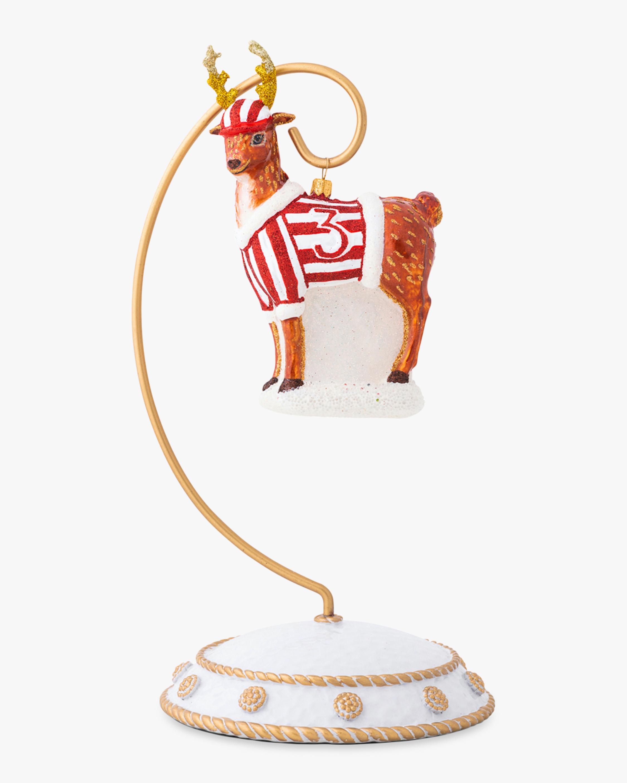 Juliska Country Estate Reindeer Games Donner Ornament 1