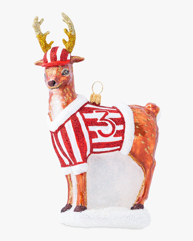 Juliska Country Estate Reindeer Games Donner Ornament 2
