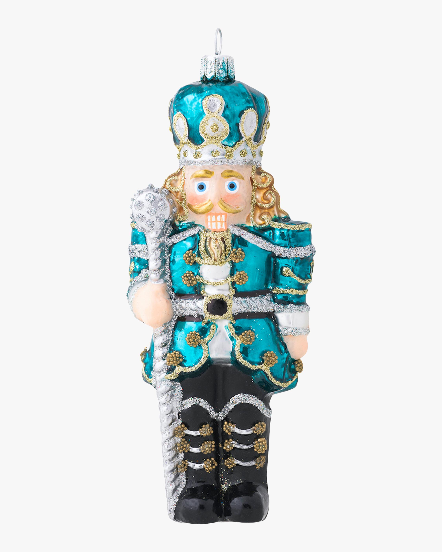 Juliska Berry & Thread Teal Nutcracker Ornament 2