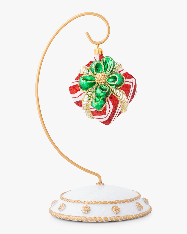Juliska Berry & Thread Stripe Present Ornament 1