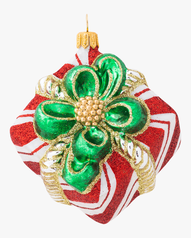 Juliska Berry & Thread Stripe Present Ornament 2